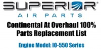 100% Continental Replacement Parts